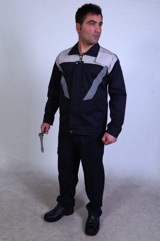 لباس کار دو تکه ۳۰- ۷۰ (مدل جویا)