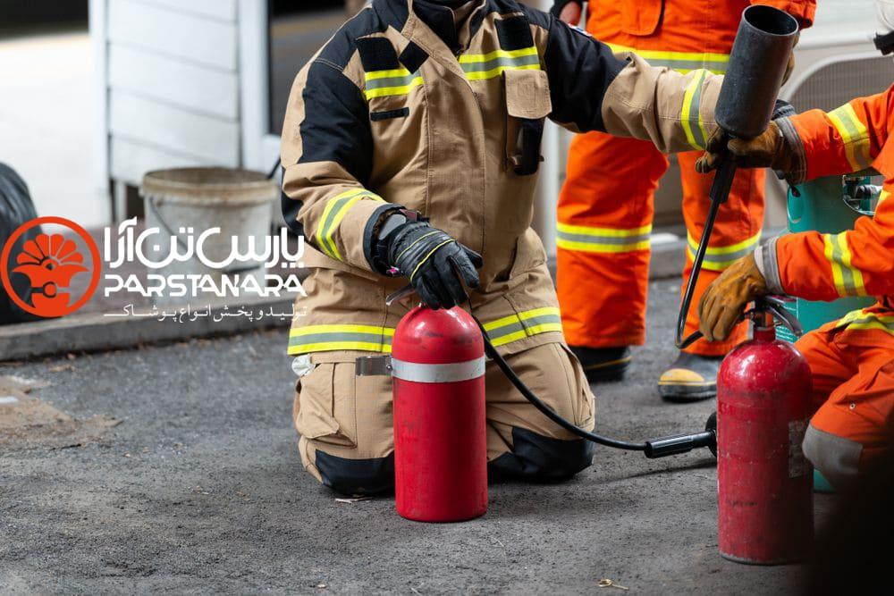 ویژگی های لباس ایمنی آتش نشانی