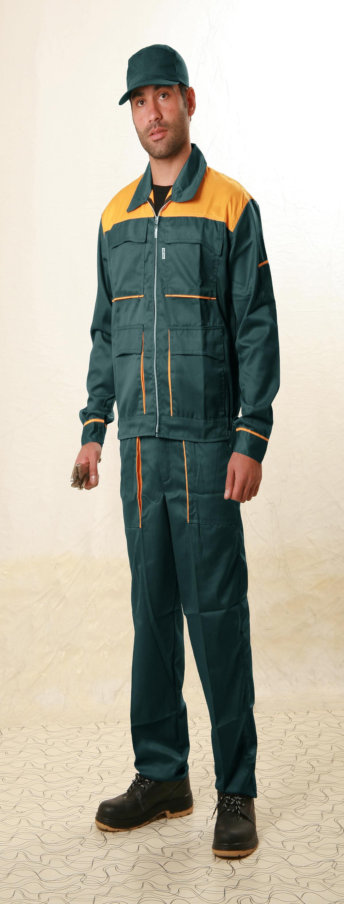 لباس کار ۲ تکه ( مدل برزین)
