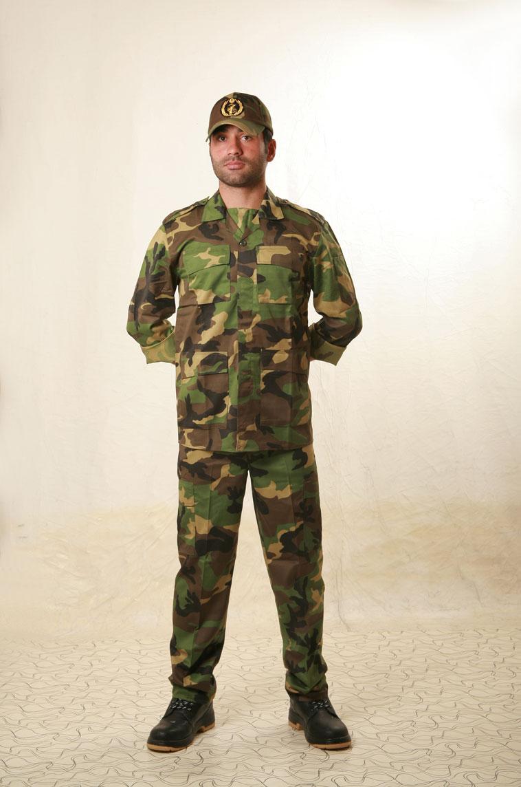 ویژگی های نخ پنبه ای در لباسهای نیروهای مسلح